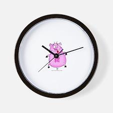 Year of PiggyBOo Wall Clock