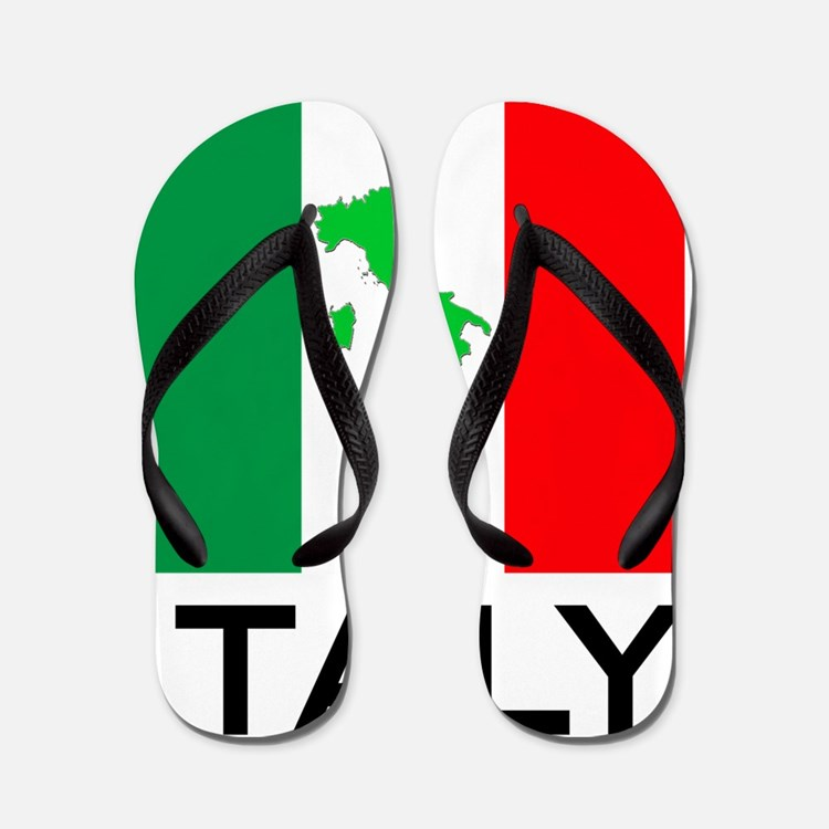 italy_flag_small_map02 Flip Flops
