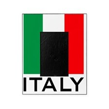 italy_flag_small_map02 Picture Frame
