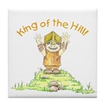 King of the Hill Tile Coaster