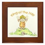 King of the Hill Framed Tile