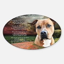 godmadedogs(tote) Sticker (Oval)