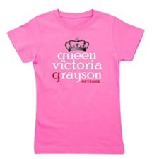 queen-victoria-grayson_wh Girl's Tee