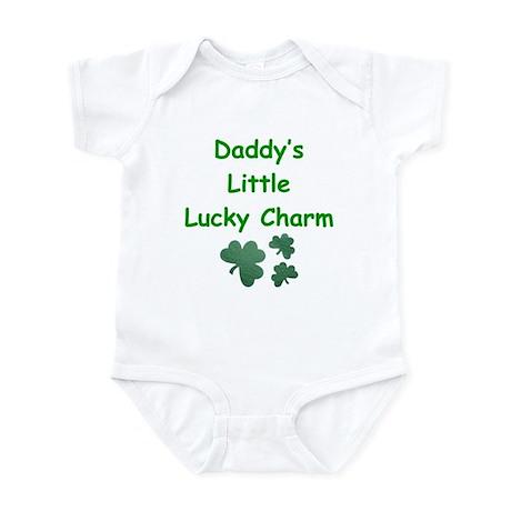 Daddy's Little Lucky Charm Infant Bodysuit
