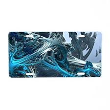 Tellurian Ice Age Aluminum License Plate
