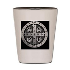 BenedictMedal_ButtonSmall Shot Glass