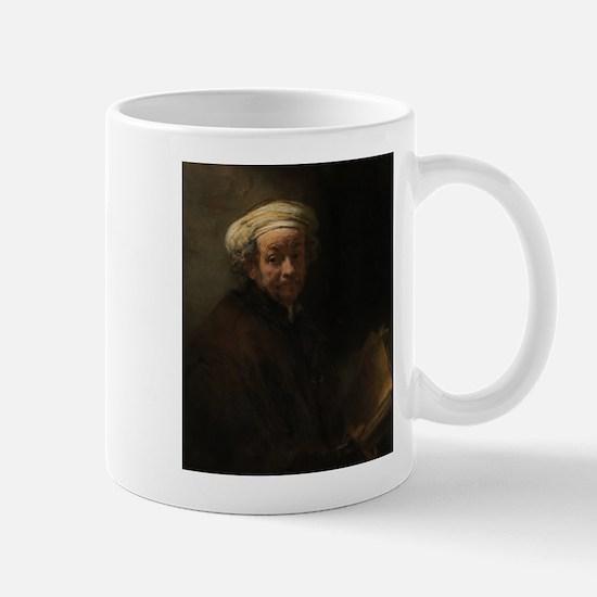 Self-portrait as the apostle Paul - Rembrandt - c1
