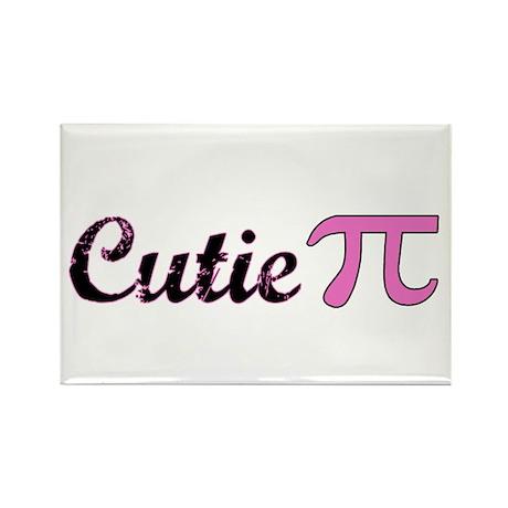 Cutie Pi Rectangle Magnet