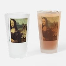 KOMA Cover monalisa2 Drinking Glass