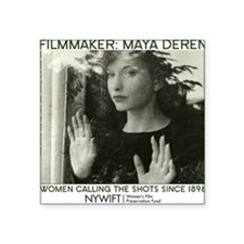 """Maya Deren 10x10_apparel-to Square Sticker 3"""" x 3"""""""