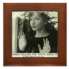 Maya Deren 10x10_apparel-tote_MD Framed Tile