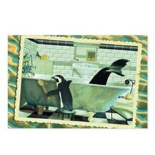 cp-wk-bathtub Postcards (Package of 8)