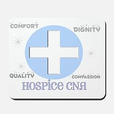 Hospice CNA 2012 BLUE CROSS Mousepad