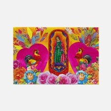 Our Lady of Color Rectangle Magnet