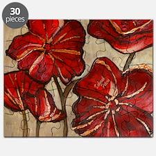 Poppy Art Puzzle