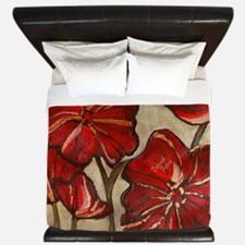 Poppy Art King Duvet