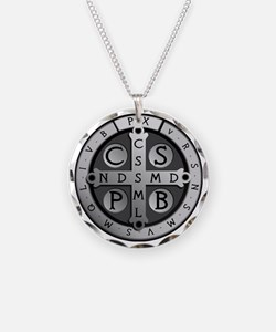 BenedictMedal_ShirtFront Necklace