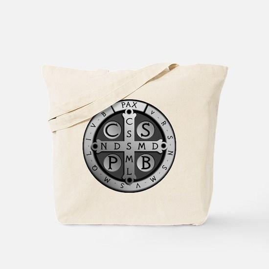 BenedictMedal_ShirtFront Tote Bag