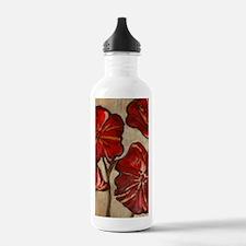 Poppy Art I Water Bottle