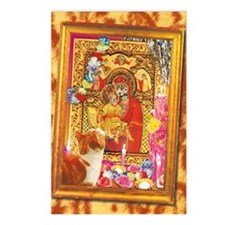cp-wk-religiouscats Postcards (Package of 8)
