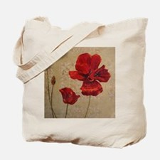 Poppy Art III Tote Bag