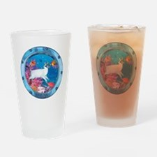 CP-tee-seadiver-front Drinking Glass
