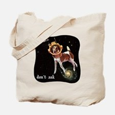 CP-tee-spacedog-front Tote Bag