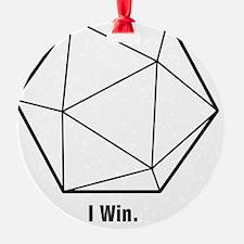 i win Ornament