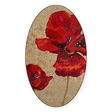 Poppy Art II Decal