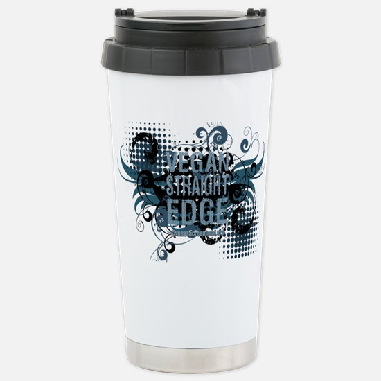 vegan-straight-edge-02 Stainless Steel Travel Mug
