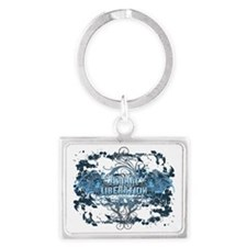 animal-liberation-03 Landscape Keychain