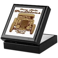 traditions speed shop Keepsake Box