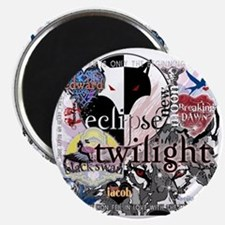 new twilight saga collage by twibaby best t Magnet