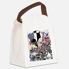 new twilight saga collage by twib Canvas Lunch Bag