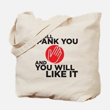 spankyou copy Tote Bag
