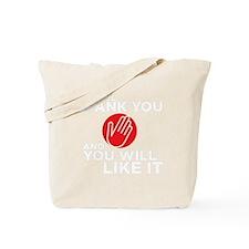 spankyouDrk copy Tote Bag