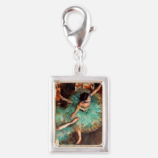Degas Mag3 Silver Portrait Charm