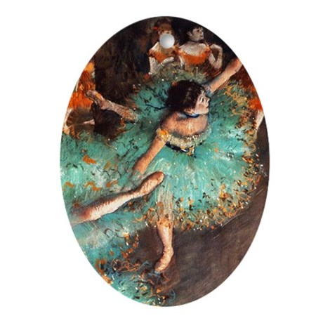 Degas Mag3 Oval Ornament