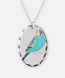 Sweet Bird Parakeet Necklace