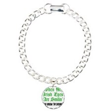 Irish Eyes Smiling Shot  Charm Bracelet, One Charm