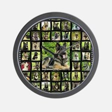 blanket-brutus Wall Clock