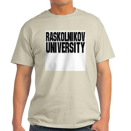 Raskolnikov University Light T-Shirt