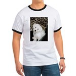 SOPHIE 'HERE'S LOOKING AT YOU' RINGER T-SHIRT
