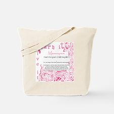 mammogram Tote Bag