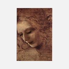 Portrait of the Artist Rectangle Magnet