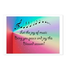God Gave us Music  Postcards (Package of 8)