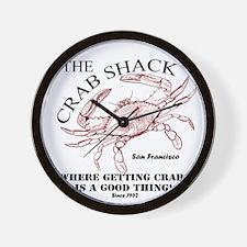 TheCrabShack Wall Clock