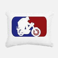 majorleagueMoped Rectangular Canvas Pillow