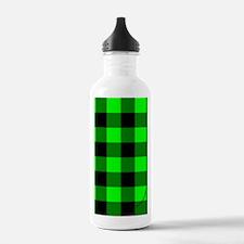 kindlesleevegrnchecker Water Bottle