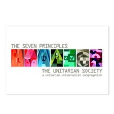 Postcards (Package of 8) - Seven UU Principles